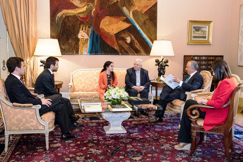 Igreja/Estado: Presidente da República recebeu jovens portugueses que participaram no pré-sínodo
