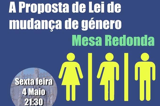 Lisboa: Colóquio sobre «A proposta de lei de mudança de género»