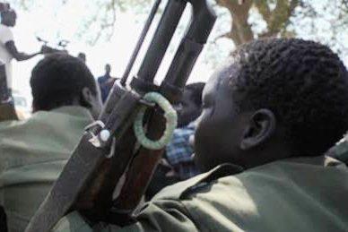 Sudão do Sul: Duas centenas de crianças-soldado foram libertadas no estado de Yambio