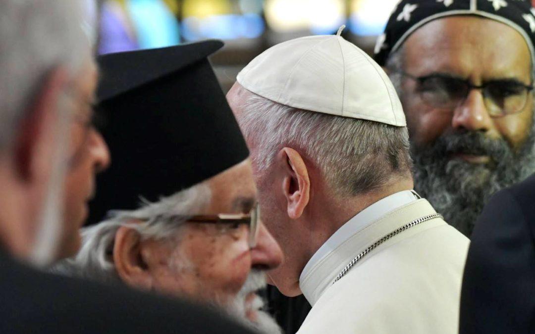 Igreja/Sociedade: «Os fracos são cada vez mais marginalizados, vendo-se sem pão, sem trabalho nem futuro», denuncia o Papa em encontro ecuménico