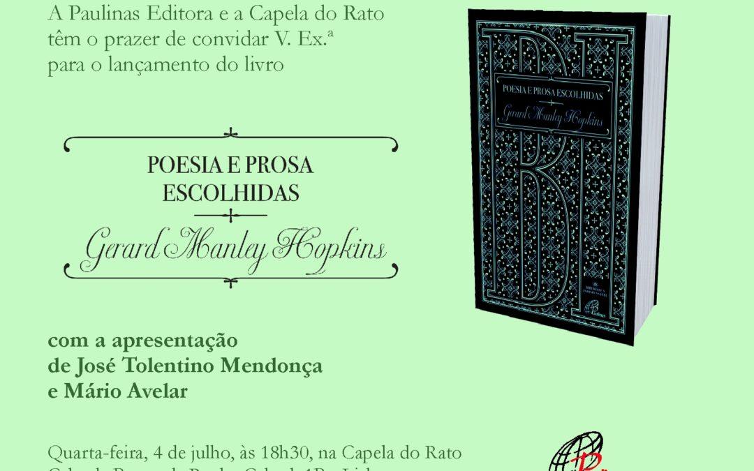 Publicações: Lançamento da obra «Poesia e Prosa Escolhidas», em Lisboa