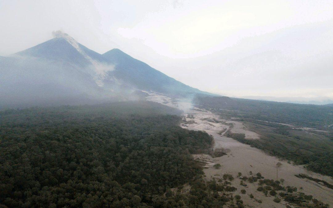 Guatemala: Papa envia condolências a vítimas de erupção vulcânica