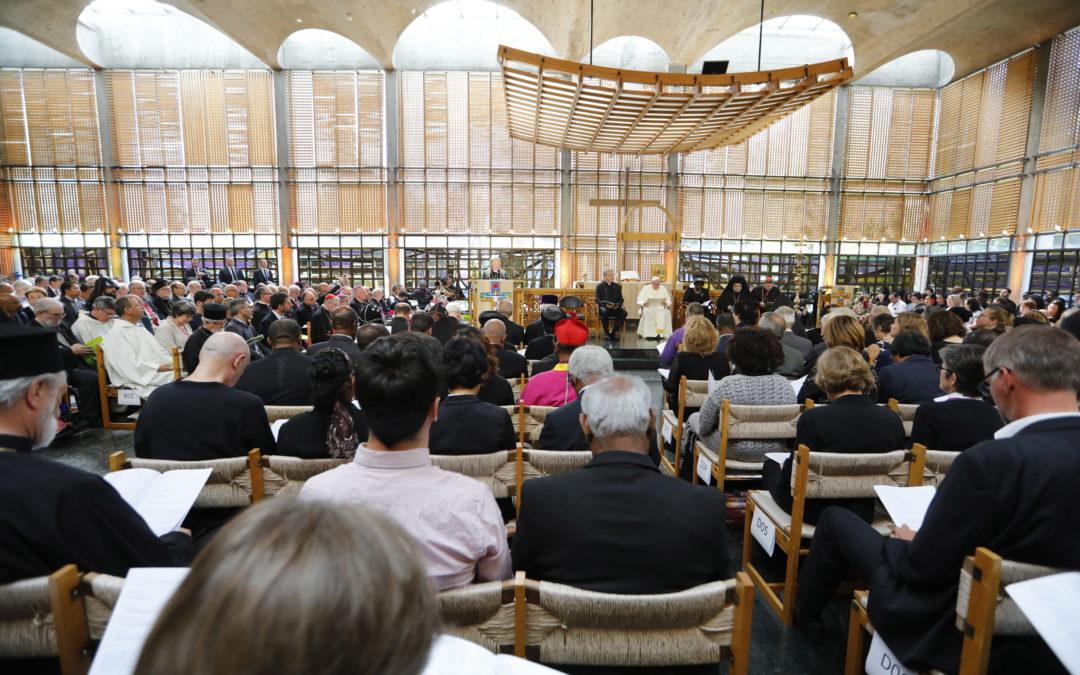 Ecumenismo: Papa propõe ação conjunta dos cristãos em defesa da vida e do ambiente