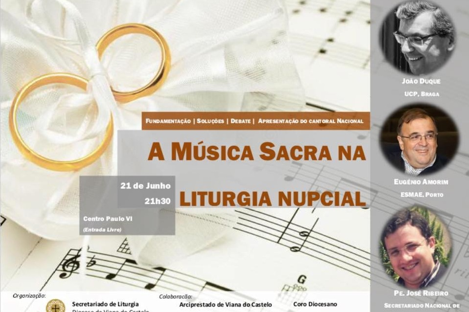 Viana do Castelo: Diocese promove encontro sobre «Música Sacra na Liturgia Nupcial»