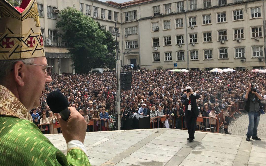 Coimbra: Bispo afirmou importância da «atenção suprema às pessoas», perante finalistas universitários