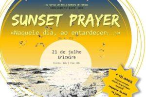 Vida Consagrada: «Sunset Prayer» na Praia da Ericeira