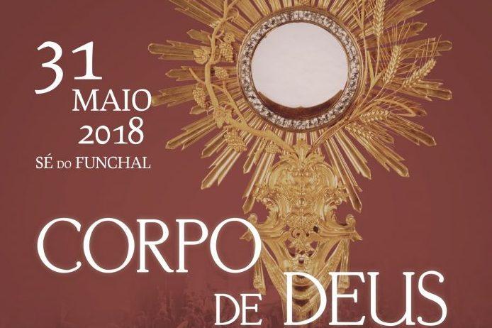 Homilia de D. António Carrilho, bispo do Funchal,na Solenidade do Santíssimo Corpo e Sangue de Cristo