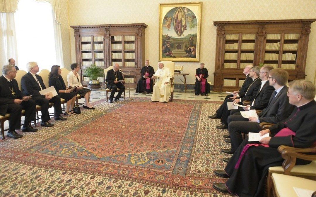 Ecumenismo: Papa recebeu delegação da Igreja Evangélica Luterana Alemã e deixou apelo ao diálogo