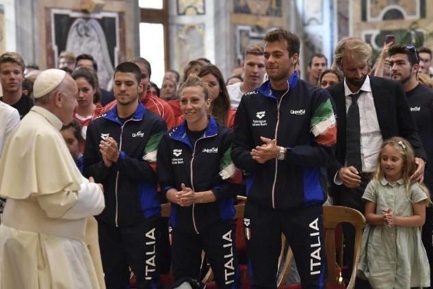 Igreja/Desporto: Papa afirmou a «importância de formar equipa» e a formação nos valores