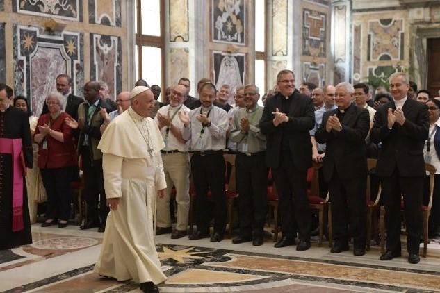 Vaticano: Papa recebeu participantes no Capítulo Geral dos Verbitas
