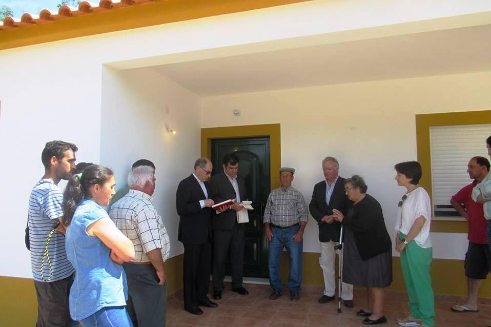 Abrantes: Família em Aldeia do Mato recebeu casa «reconstruída e melhorada» pela Cáritas