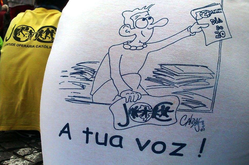 """Portugal: Muitos jovens vivem no trabalho um contexto de «precariedade, pressão e medo» – Presidente da Juventude Operária Católica <img src=""""http://www.agencia.ecclesia.pt/portal/wp-content/uploads/2018/07/icon_video20.png"""">"""
