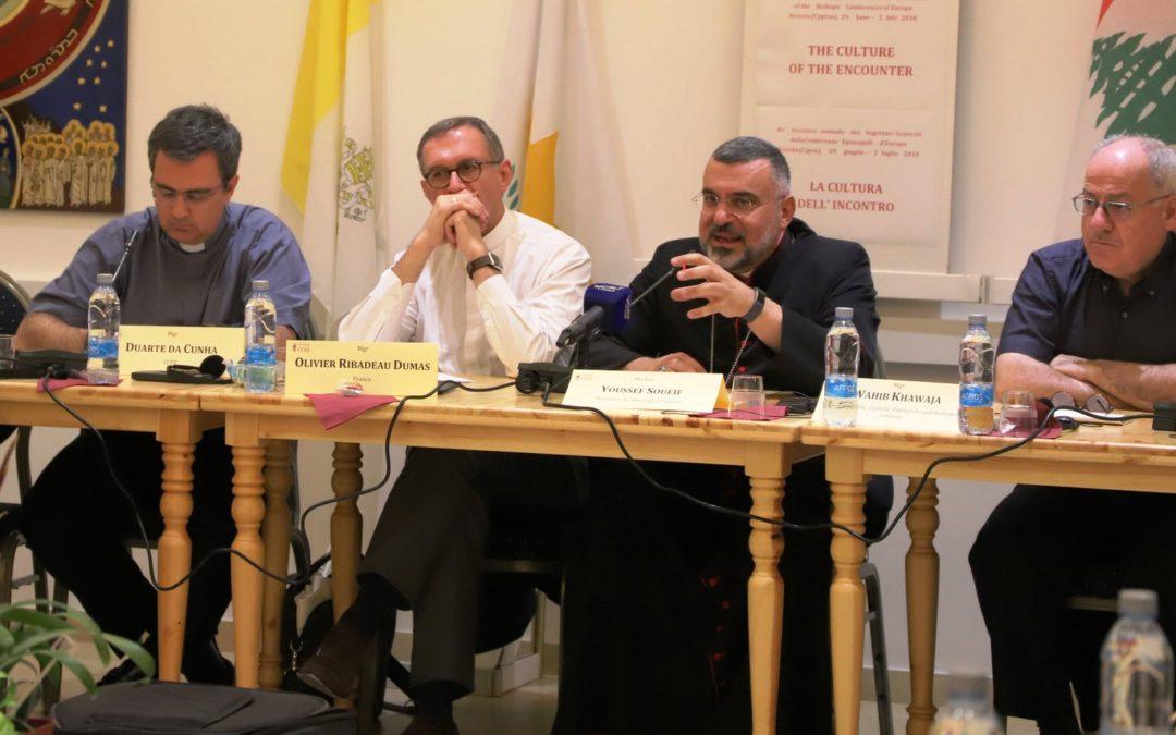 Europa: Secretários-gerais das Conferências Episcopais Católicas reuniram-se no Chipre