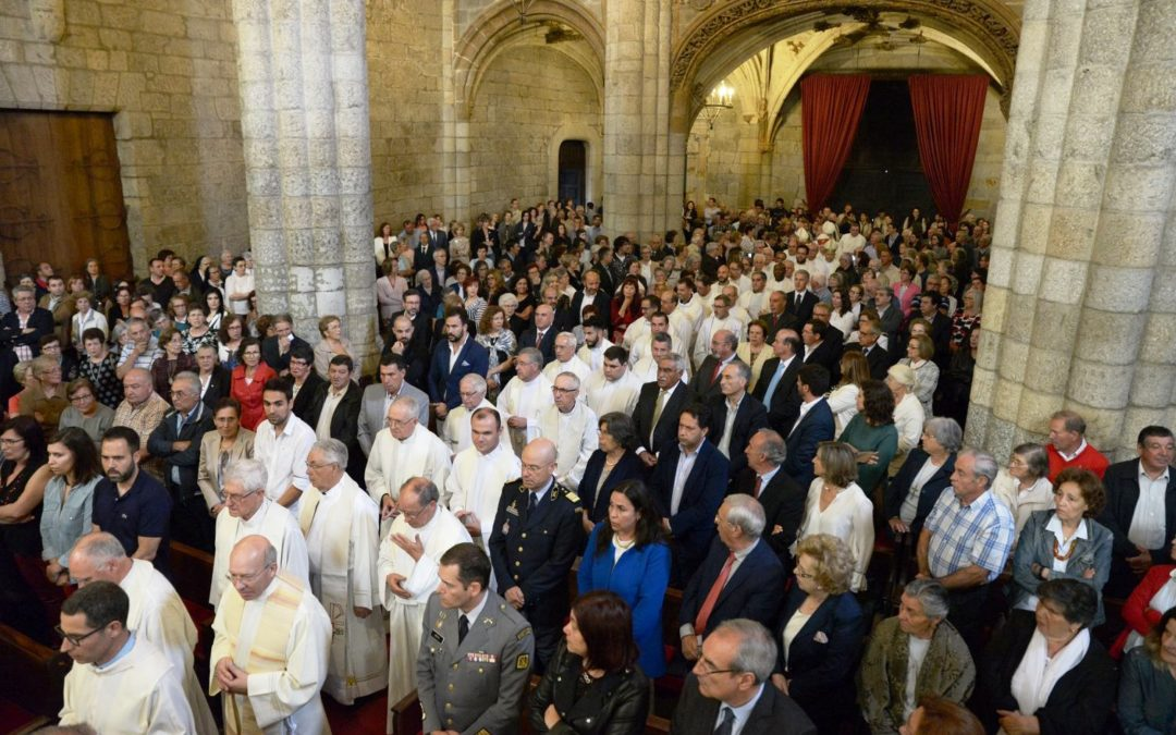 Viseu: Diocese promoveu cerimónia de agradecimento a D. Ilídio Leandro