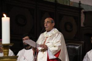 Leiria: D. António Marto reza o terço pela unidade da Igreja