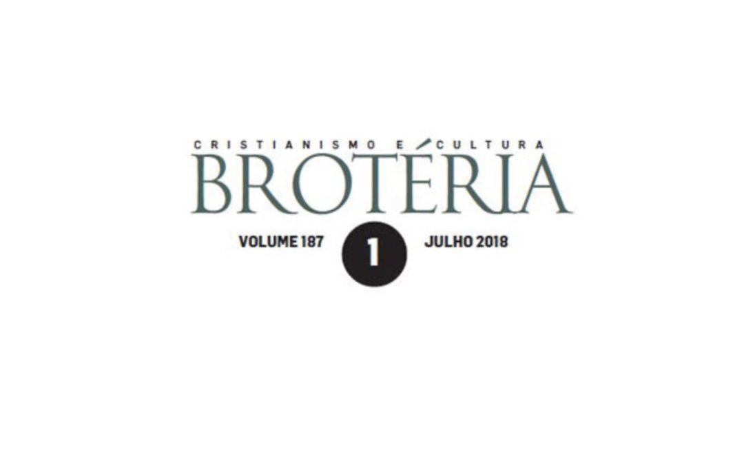 Cultura: Incêndios e eutanásia marcam edição de julho da Brotéria