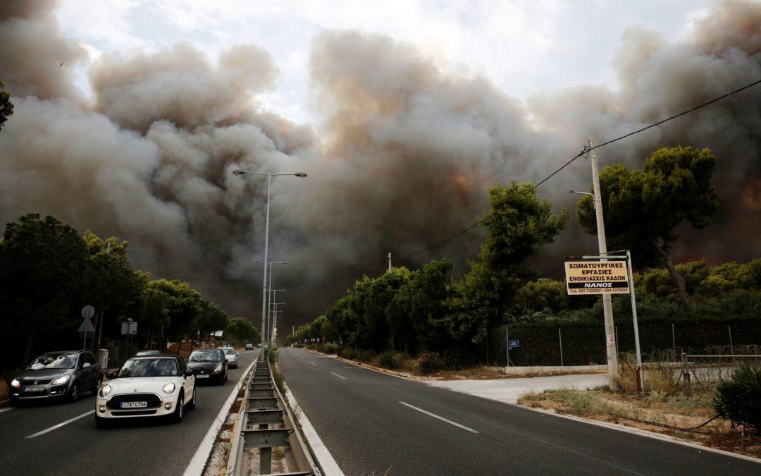 Incêndios/Grécia: Papa mostra-se «profundamente entristecido» com tragédia