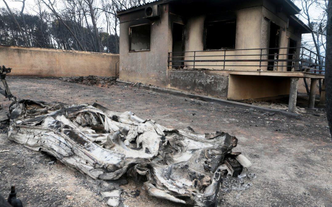 Incêndios: Cáritas Portuguesa solidária com o sofrimento vivido na Grécia