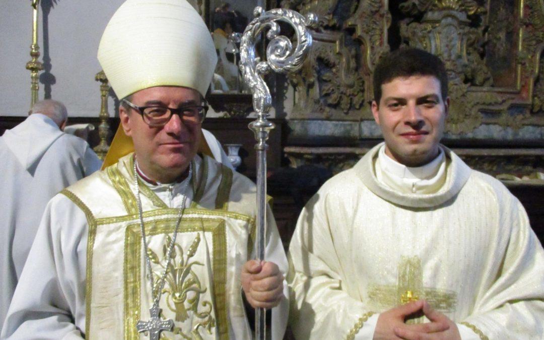 Homilia do Bispo de Lamego na Ordenação Sacerdotal do Diácono Vitor Manuel Teixeira Carreira