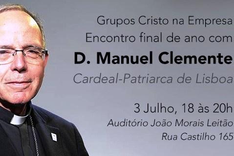 Lisboa: Cardeal-patriarca vai falar aos membros do projeto «Cristo na Empresa»