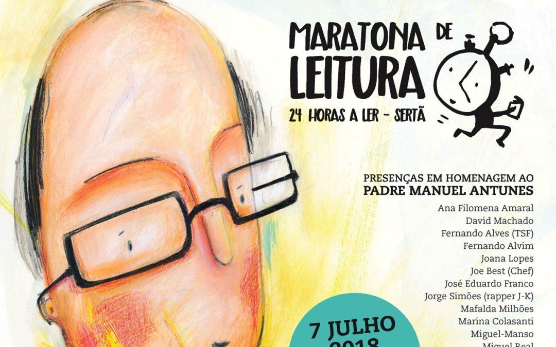 Sertã: Maratona de leitura homenageia padre Manuel Antunes