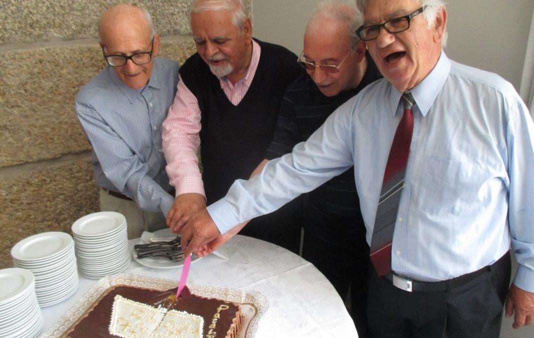 Combonianos: Quatro missionários celebraram 50 anos de ordenação sacerdotal