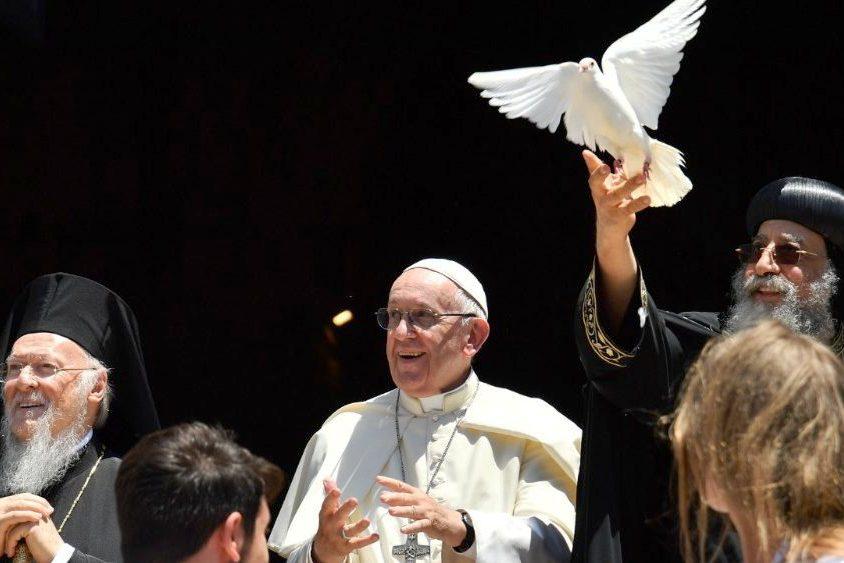 Ecumenismo: Paz é única alternativa para o Médio Oriente – Papa Francisco (c/vídeo)