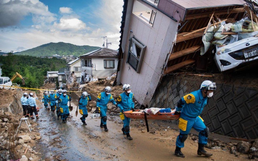 Japão: Papa manifesta solidariedade às vítimas das enchentes no Japão