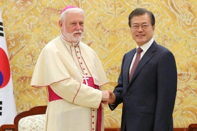 Ásia: Secretário do Vaticano para as Relações com os Estados levou «apoio e a oração» do Papa à Coreia do Sul