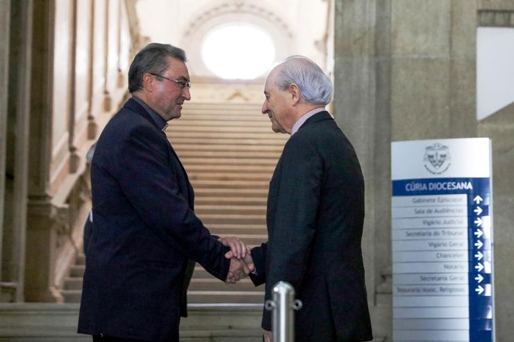 Porto: Bispo recebeu líder do PSD