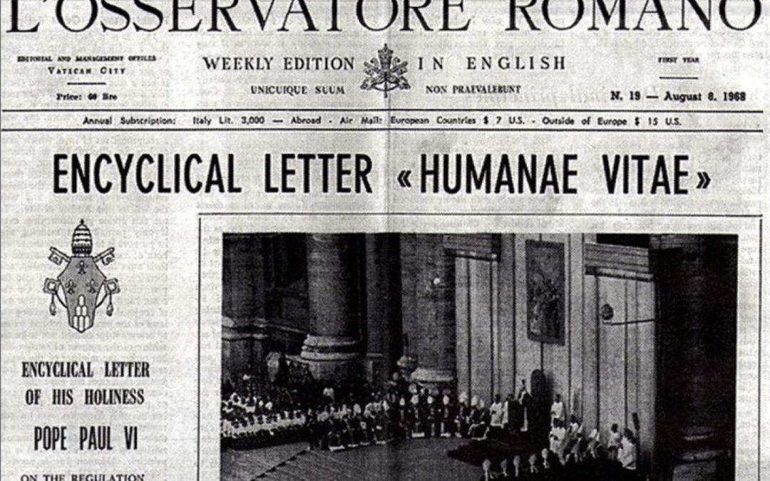 «Humanae Vitae»: Obra de investigação assinala 50 anos da encíclica do Papa Paulo VI sobre a regulação da natalidade
