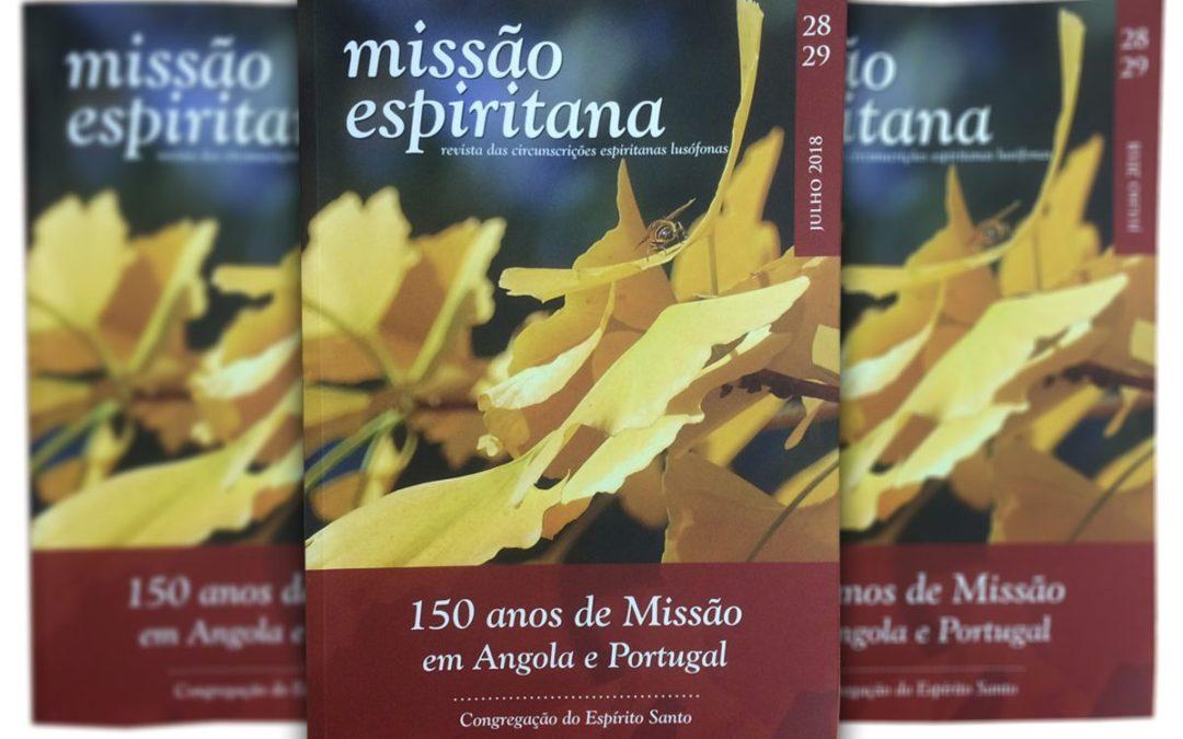 Publicações: Espiritanos testemunham 150 anos de missão em Portugal e Angola em edição especial