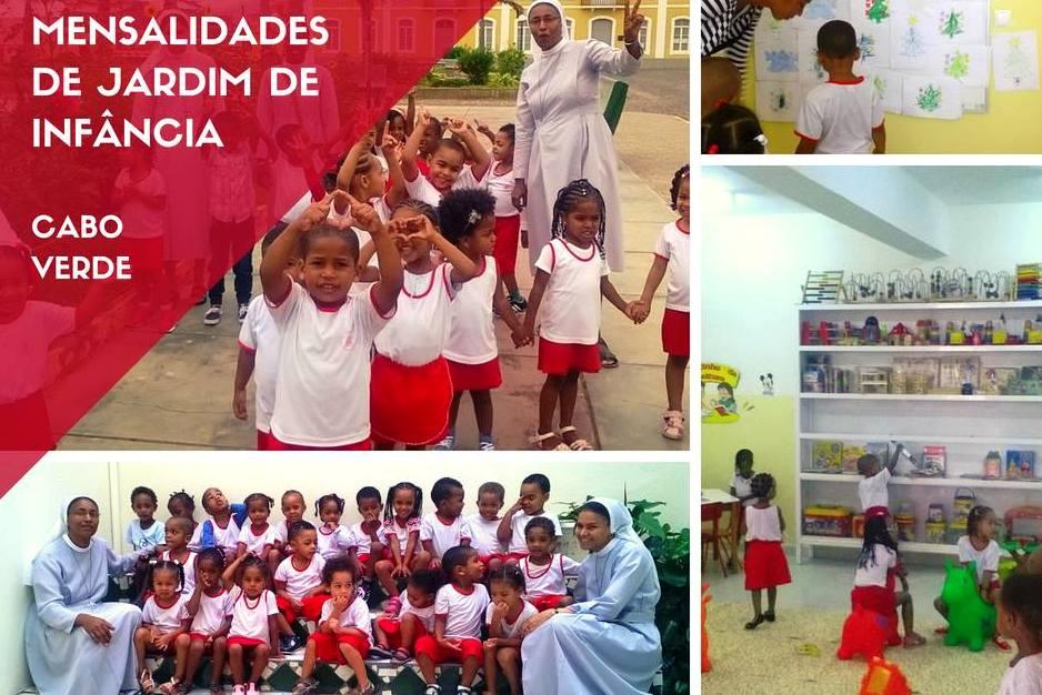 Solidariedade: Projeto da Fundação Fé e Cooperação ajuda a garantir educação e alimentação de 45 crianças em Cabo Verde