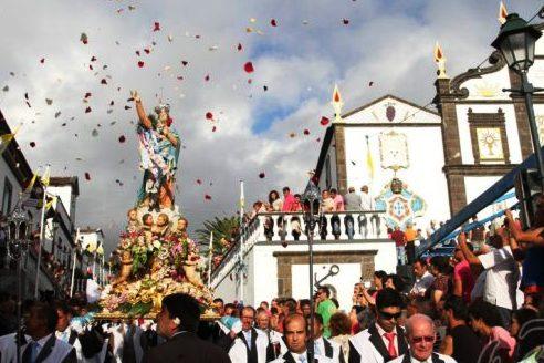 Açores: Festas de Nossa Senhora dos Anjos mobilizam freguesia piscatória de Água de Pau