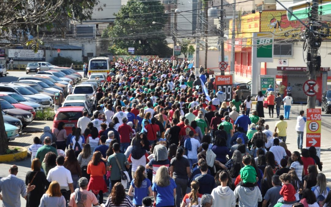 Brasil: Diocese de Petrópolis promoveu caminhada em defesa da vida