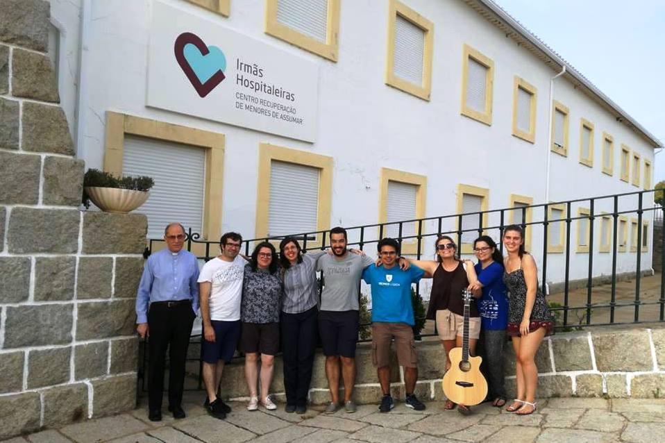 Monforte: Jovens de Portalegre-Castelo Branco dedicam voluntariado a pessoas com deficiência