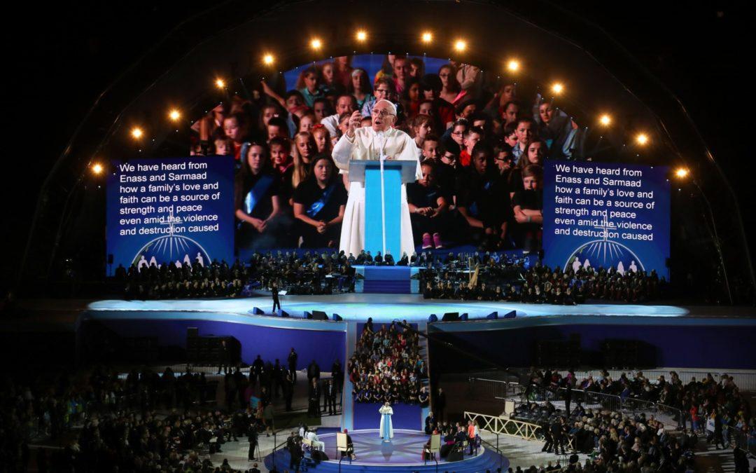Irlanda: Papa salienta a Família como «a esperança da Igreja e do mundo»