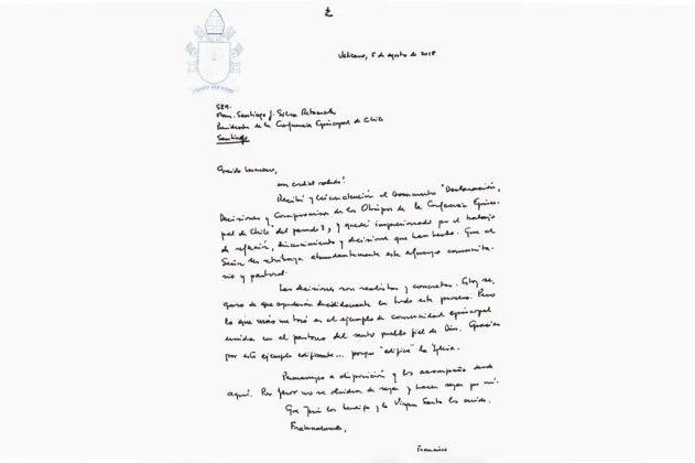 Chile: Papa saúda propostas «realistas e concretas» dos bispos para enfrentar casos de abusos sexuais