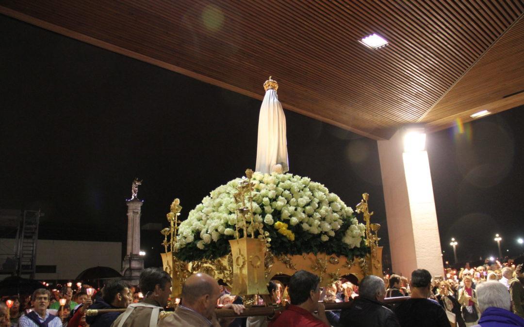 Fátima: Santuário tem novo andor para a Nossa Senhora