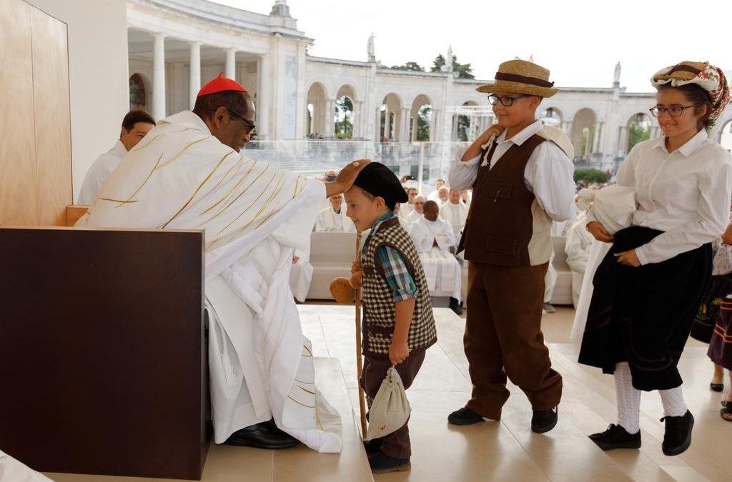 Fátima: Peregrinos oferecem trigo ao Santuário pela 78.ª vez