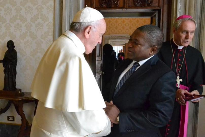 Vaticano: Presidente de Moçambique espera receber o Papa em 2019