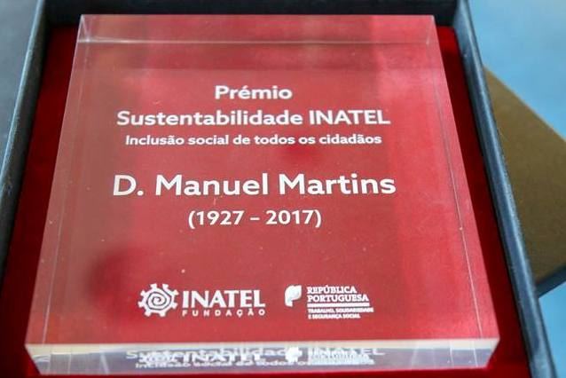Setúbal: Fundação INATEL homenageou D. Manuel Martins com prémio «Sustentabilidade – Inclusão social» (c/vídeo)