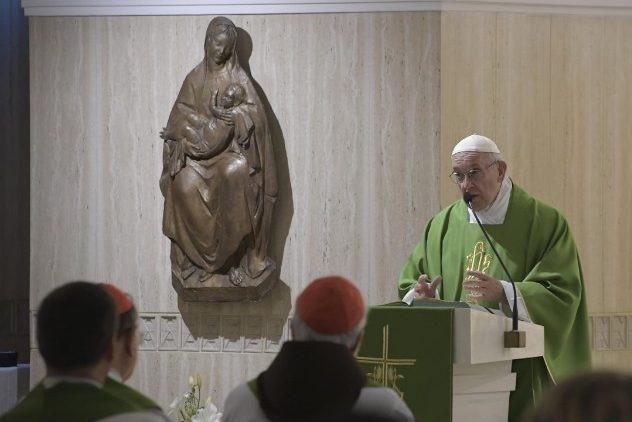 Vaticano: Papa fala em perseguição diabólica contra os bispos