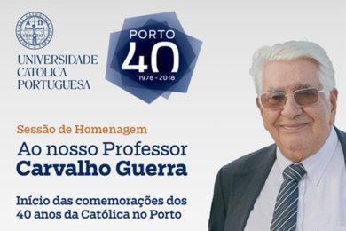 Porto: Homenagem da UCP a Francisco Carvalho Guerra