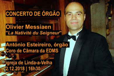 Igreja/Música: Ciclo de órgão «La Nativité du Seigneur»