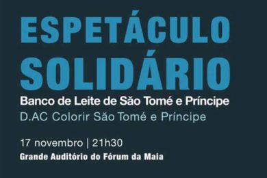 Solidariedade: Espetáculo para ajudar o Banco de Leite de São Tomé e Príncipe