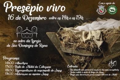 Lisboa: «Presépio Vivo» no adro da Igreja de São Domingos Rana