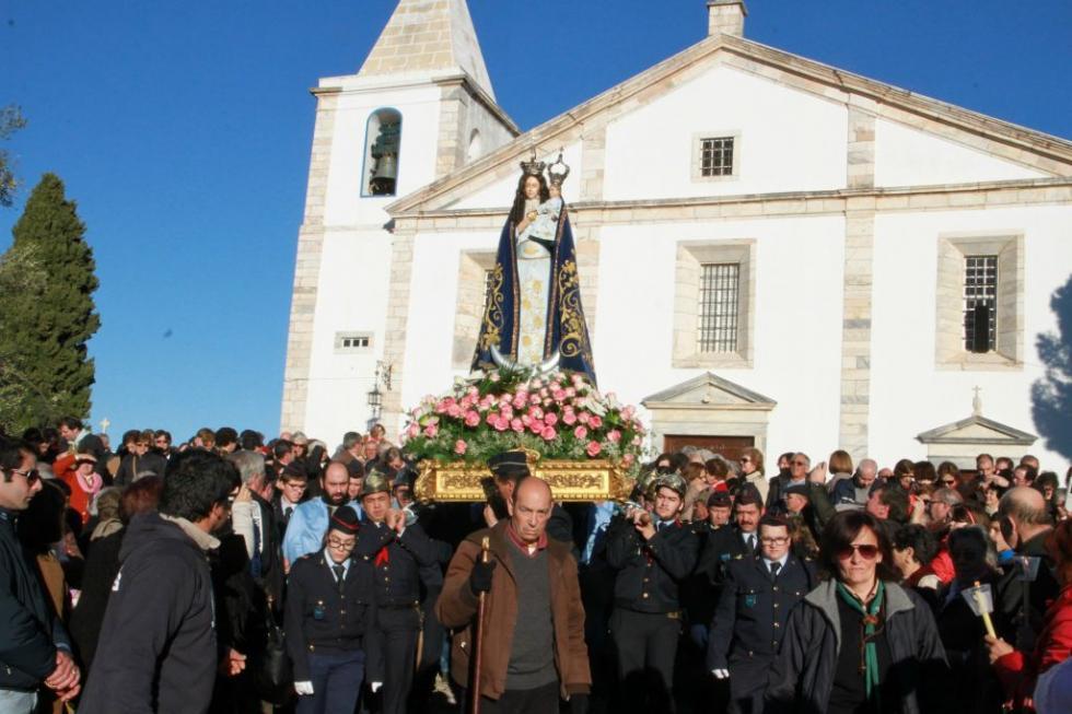 Évora: Santuário de Vila Viçosa abre portas a milhares de peregrinos para a festa da Imaculada Conceição
