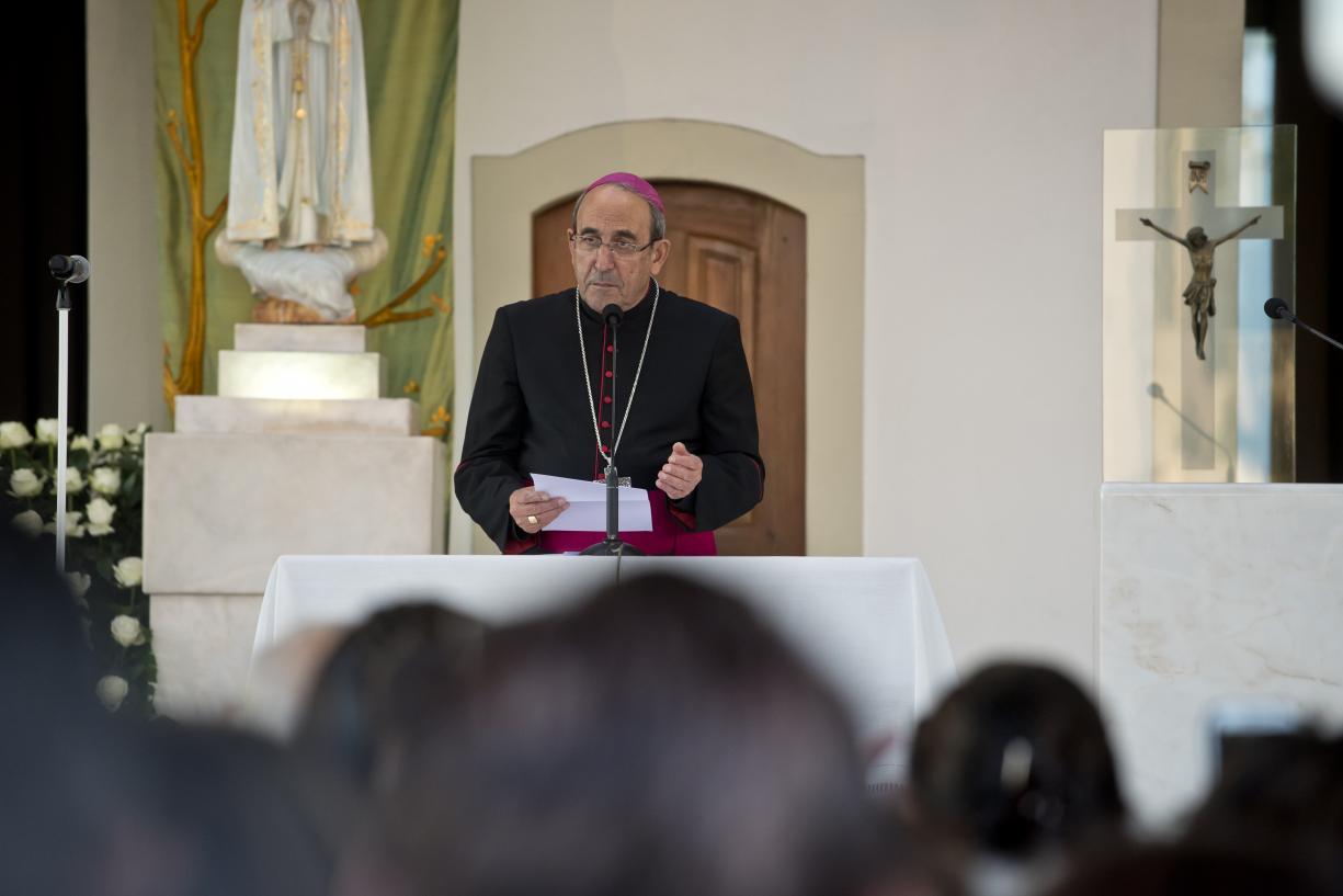 Fátima: D. António Marto abre peregrinação de outubro evocando necessidade de paz