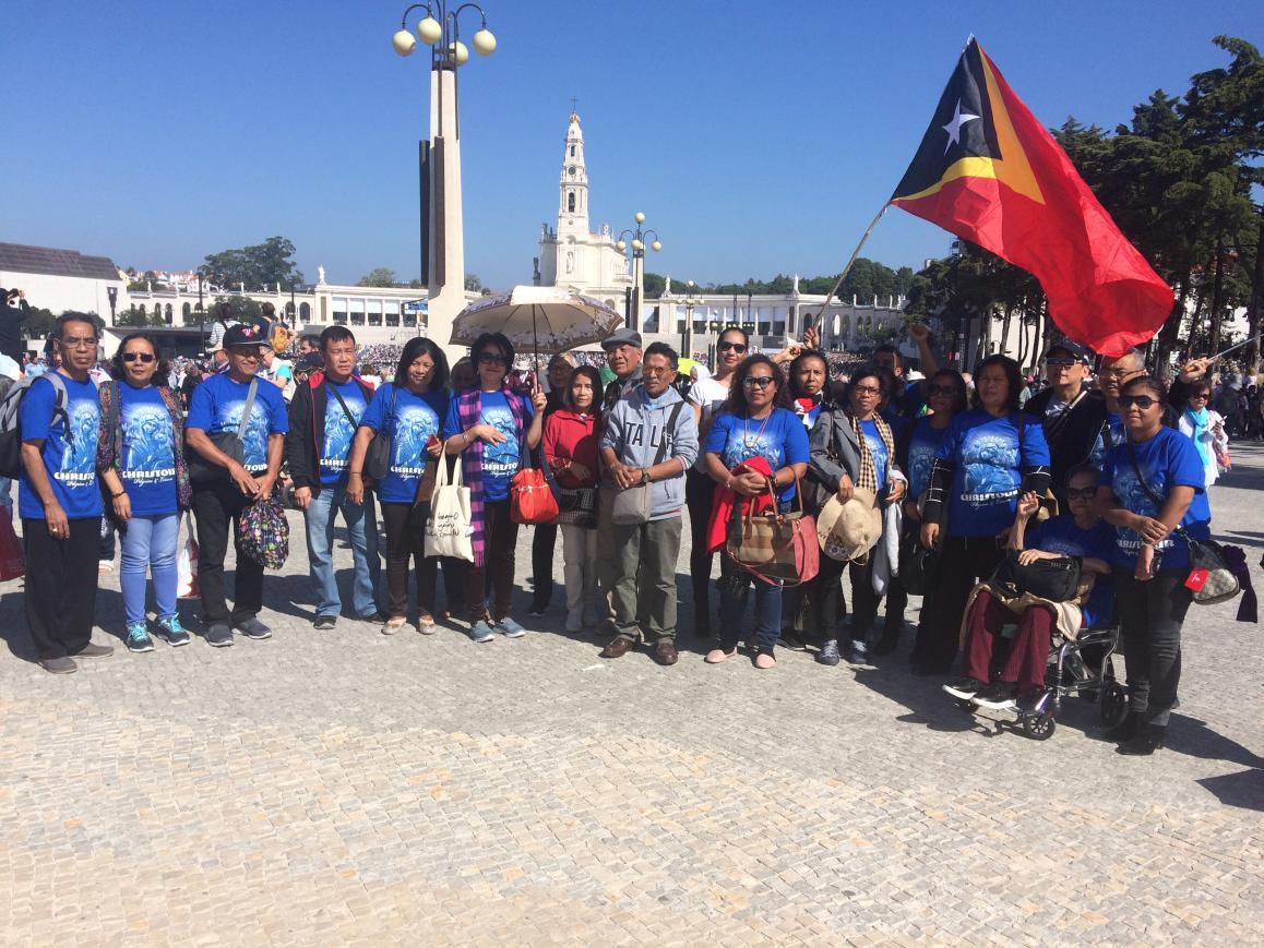 Fátima: Centenário juntou timorenses e indonésios numa peregrinação simbólica pela paz